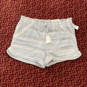 Lined summer cotton shorts, NWT